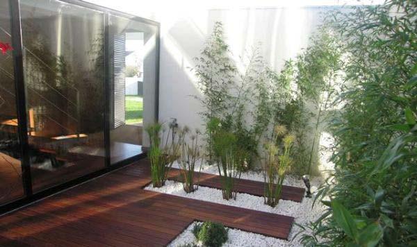 Ιδέες σχεδιασμού με βότσαλα για την αυλή σας16