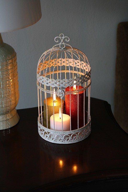 κλουβιά πουλιών στην εσωτερική διακόσμηση2