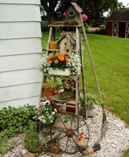 DIY διακοσμήσεις κήπου6
