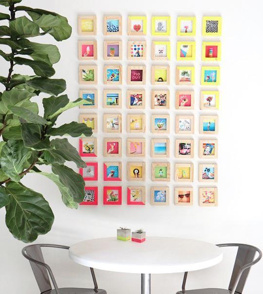 ιδέες για Instagram Gallery ντεκόρ τοίχου17