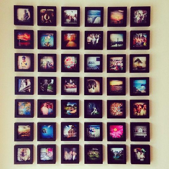 ιδέες για Instagram Gallery ντεκόρ τοίχου9
