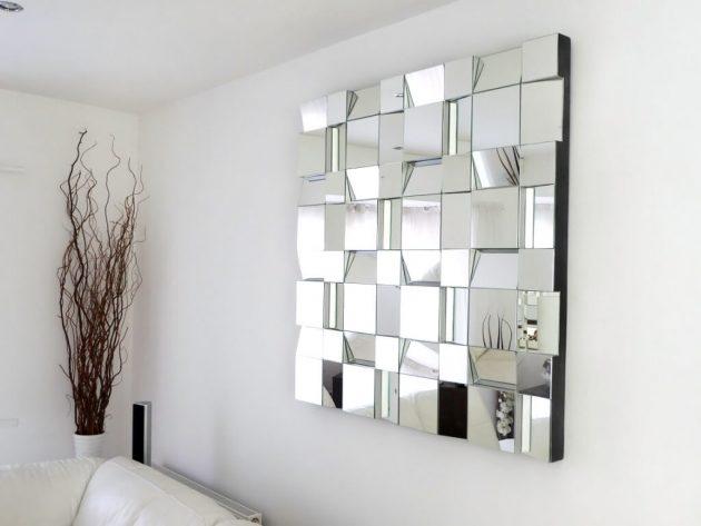 κομψά σχέδια καθρεπτών τοίχου10