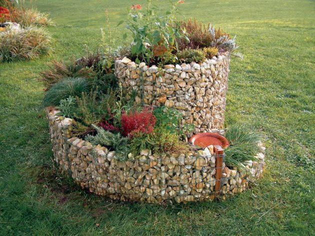 σπιράλ σχέδια κήπου2