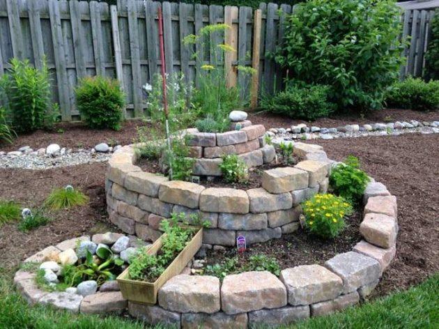 σπιράλ σχέδια κήπου3