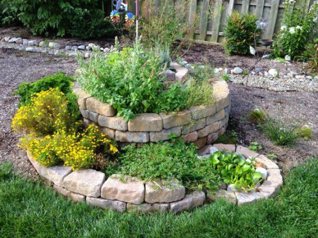 σπιράλ σχέδια κήπου5
