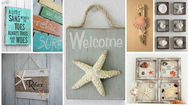 Diy ιδέες θαλασσινής διακόσμησης τοίχου