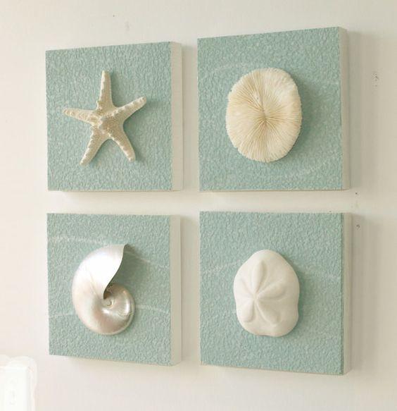Diy ιδέες θαλασσινής διακόσμησης τοίχου15