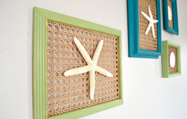 Diy ιδέες θαλασσινής διακόσμησης τοίχου6