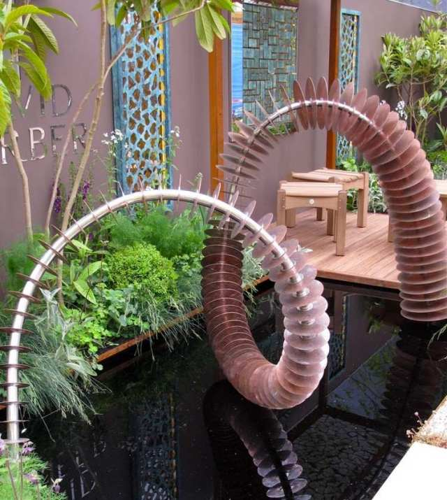 Μοντέρνα γλυπτική κήπου11