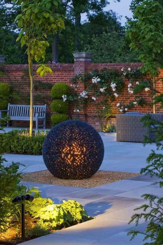 Μοντέρνα γλυπτική κήπου4