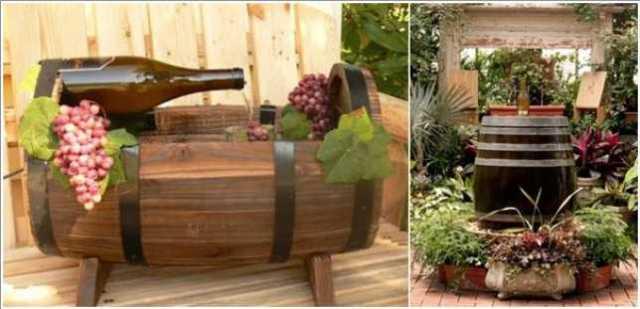 ξύλινα σιντριβάνια κήπου12