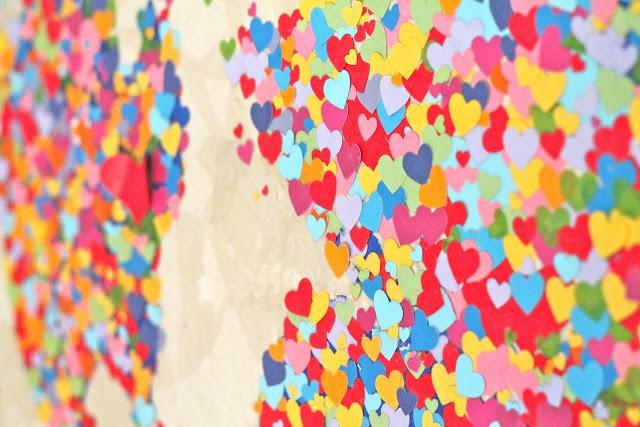 Diy United Colors of Love Παγκόσμιος Χάρτης7