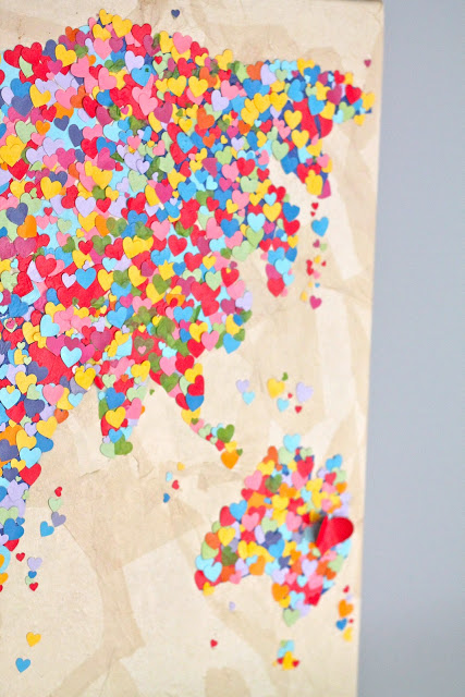 Diy United Colors of Love Παγκόσμιος Χάρτης8
