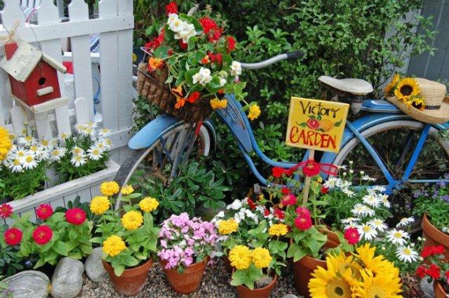διάκοαμηση κήπου με ποδήλατα13