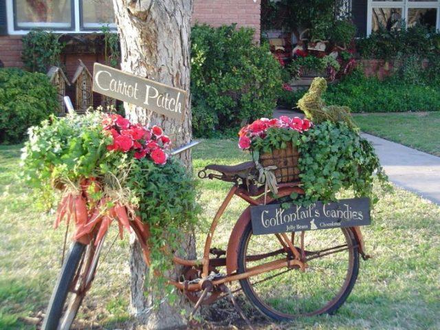 ιδέες χωριάτικης διακόσμησης κήπου14
