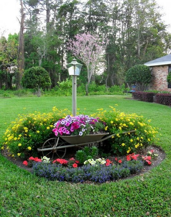 ιδέες χωριάτικης διακόσμησης κήπου4