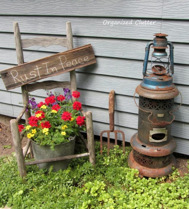 ιδέες χωριάτικης διακόσμησης κήπου5