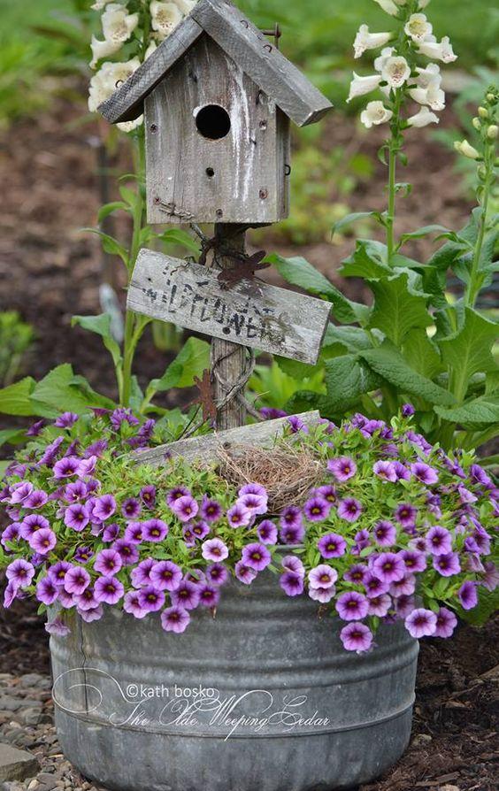 ιδέες χωριάτικης διακόσμησης κήπου6
