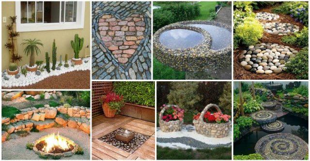 πέτρινα ντεκόρ για τον κήπο σας