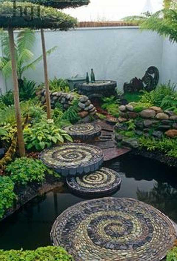 πέτρινα ντεκόρ για τον κήπο σας4