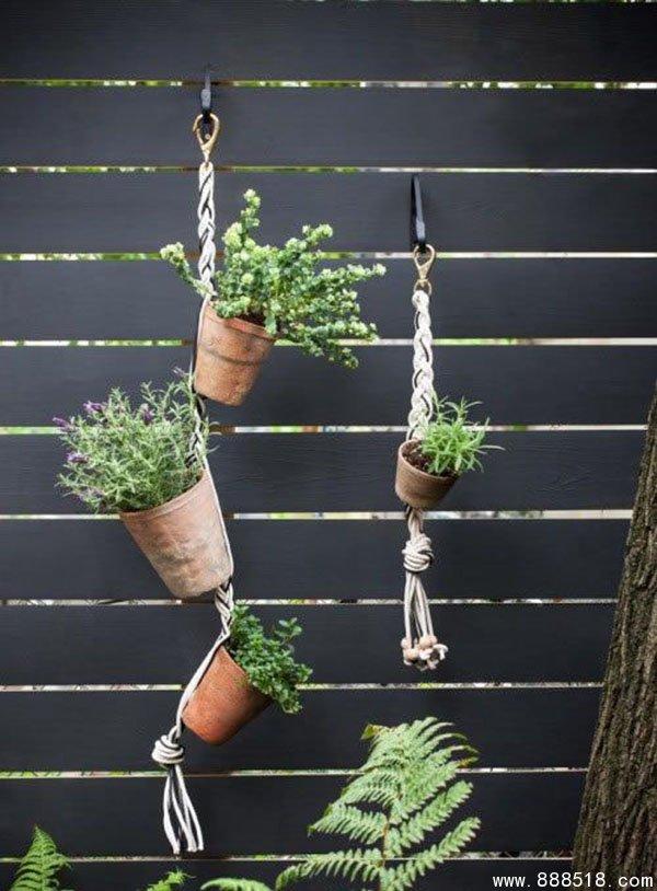 DIY γλάστρες από σχοινί1