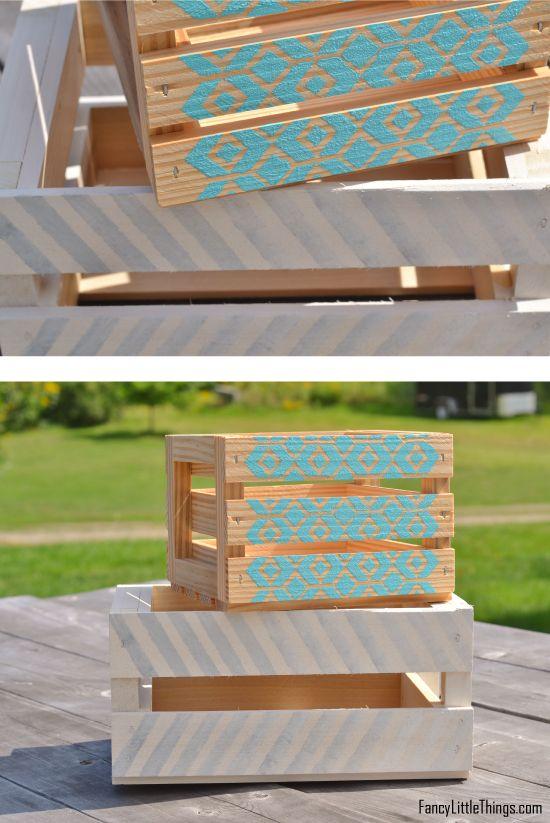 DIY πολύχρωμα ξύλινα καφάσια1