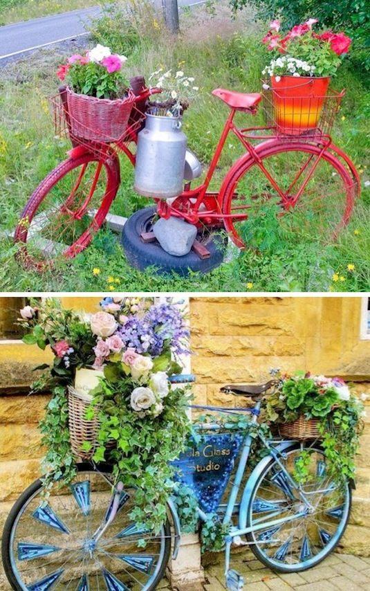 diy ιδέες για γλάστρες κήπου10