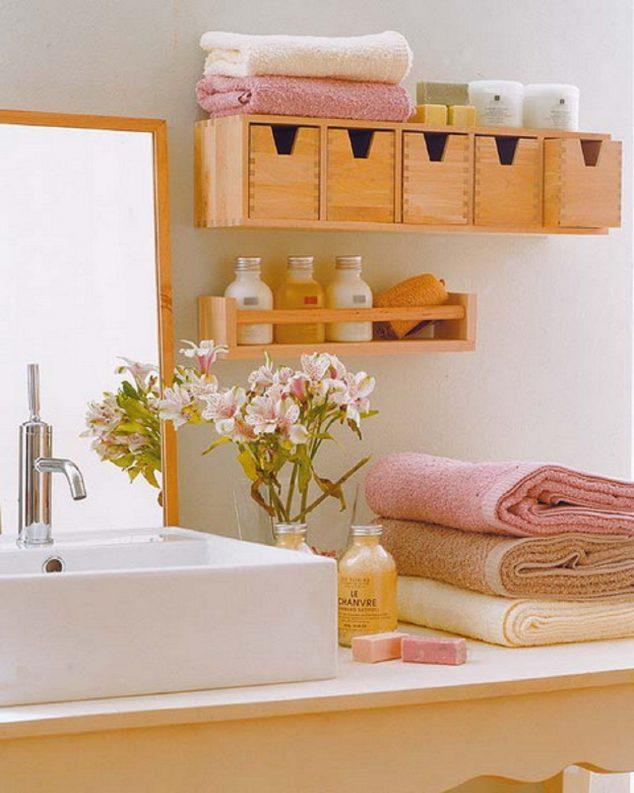 ιδέες αποθήκευση πετσετών για το μπάνιο4