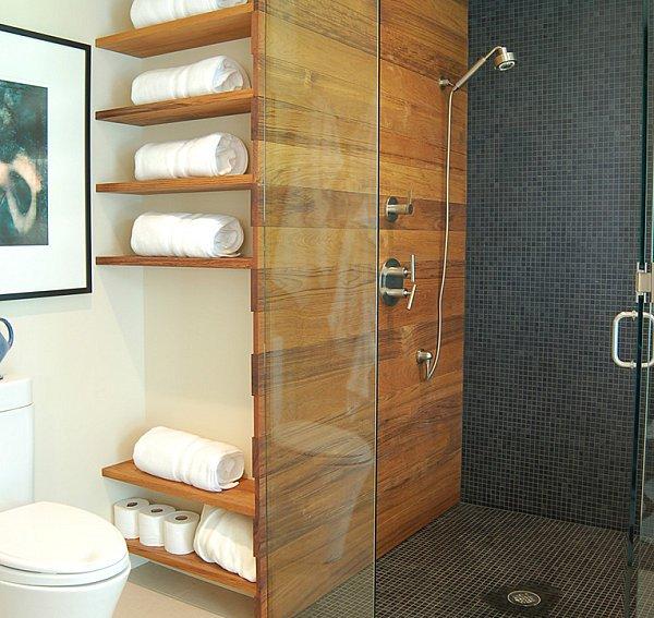 ιδέες αποθήκευση πετσετών για το μπάνιο9