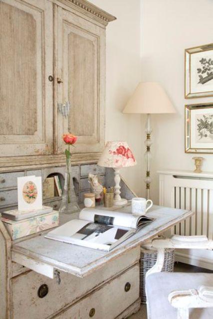 γραφεία σε γαλλικό εξοχικό στιλ15