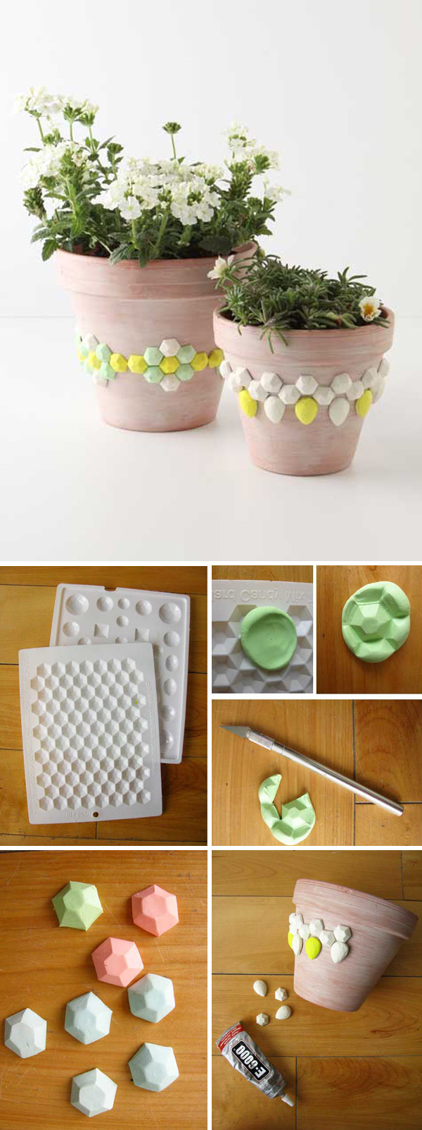 DIY ιδέες με γλάστρες30
