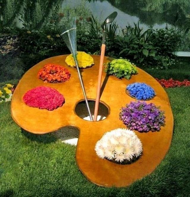Καλιτεχνικές ιδέες διακόσμησης κήπου4
