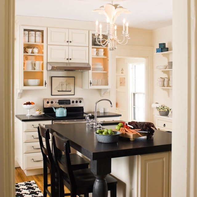 ιδέες για μικρές κουζίνες13