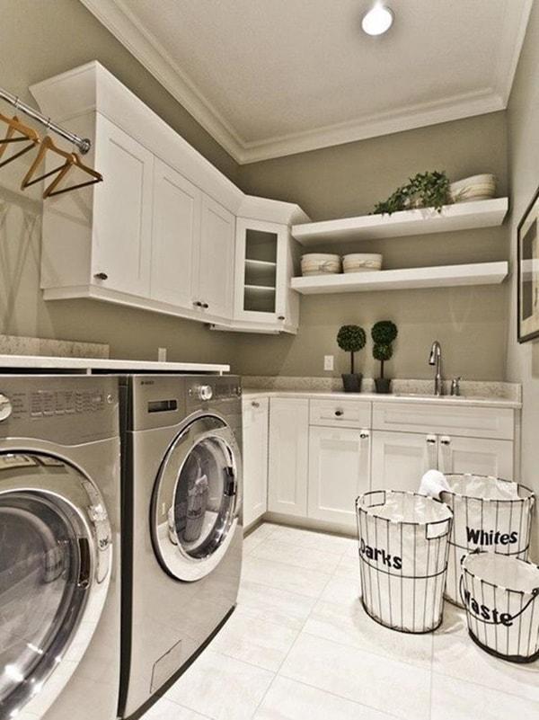 Δωμάτιο πλυντηρίου λειτουργικές ιδέες2