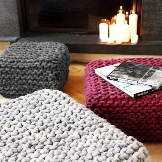 ιδέες διακόσμησης με κουβέρτες παχιάς πλέξης14