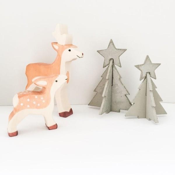 Χριστουγεννιάτικες διακοσμητικές κατασκευές από μπετόν1