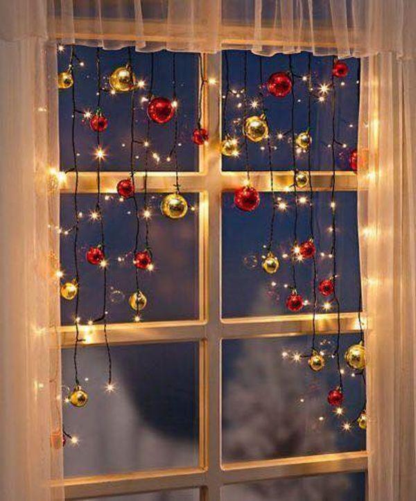 Χριστουγεννιάτικη διακόσμηση παραθύρων7