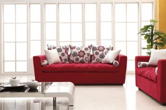 διακόσμηση με κόκκινο χρώμα6