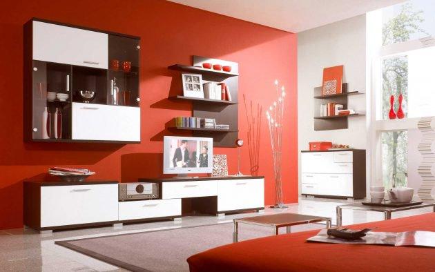 διακόσμηση με κόκκινο χρώμα8