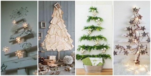 εναλλακτικα χριστουγεννιάτικα δέντρα