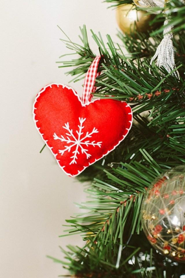 Ραφτά Χριστουγεννιάτικα στολίδια2