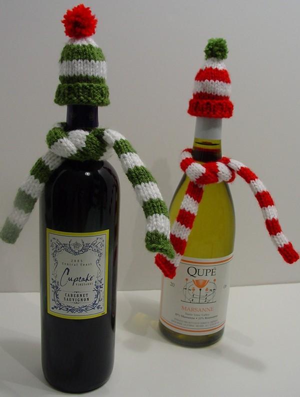 DIY Χριστουγεννιάτικη διακόσμηση από γυάλινα μπουκάλια21