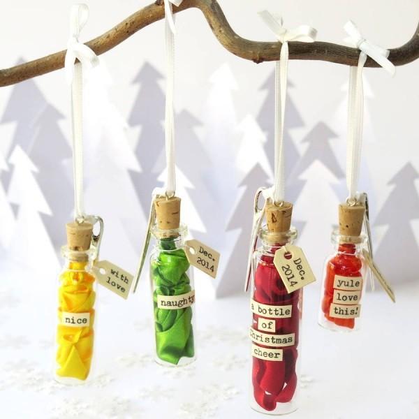 DIY Χριστουγεννιάτικη διακόσμηση από γυάλινα μπουκάλια25