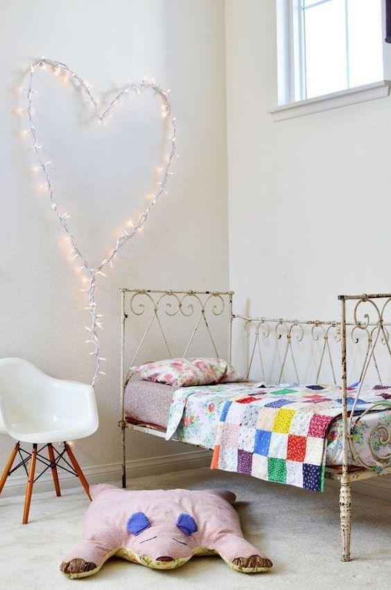 ιδέες με φωτάκια για το παιδικό δωμάτιο8