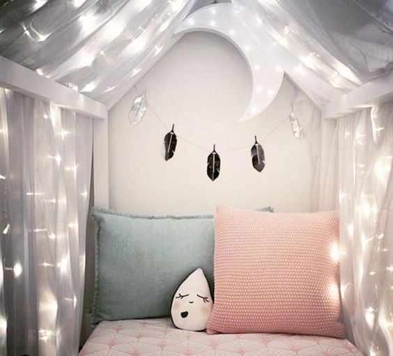 ιδέες με φωτάκια για το παιδικό δωμάτιο9