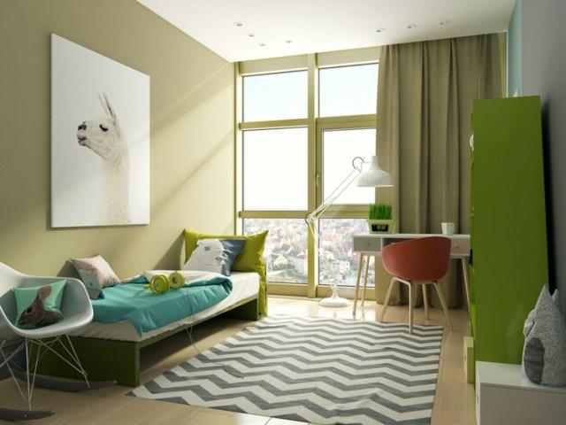 Μοντέρνα σχεδίαση παιδικού δωματίου4