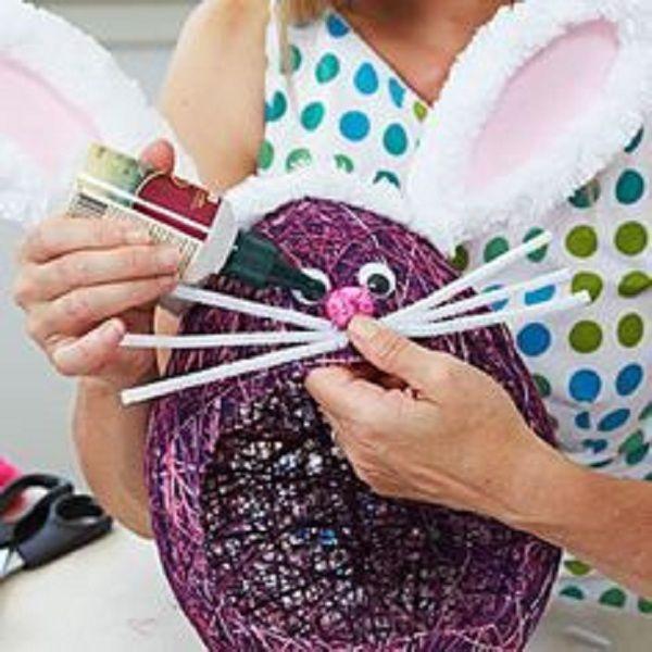 texnotropies.info Πασχαλινά διακοσμητικά αυγά από νήματα10