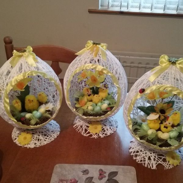 texnotropies.info Πασχαλινά διακοσμητικά αυγά από νήματα11