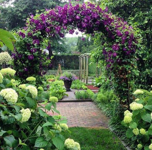 ιδέες από καμάρες κήπου14