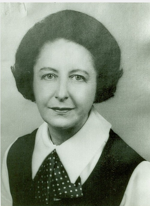 Undated photograph of Alice O'Donnell